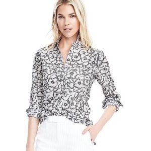 Banana Republic Floral Dillon Shirt Button Down